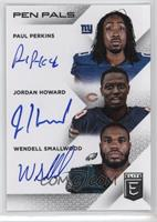 Jordan Howard, Wendell Smallwood, Paul Perkins