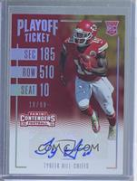 Rookie Ticket Variations - Tyreek Hill /99