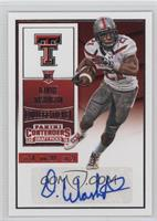 College Ticket - DeAndre Washington