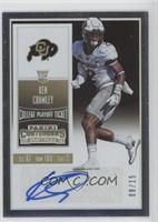 College Ticket - Ken Crawley /15