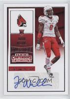 College Ticket Variation - Jordan Williams