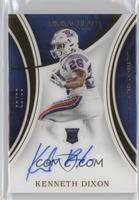 Rookie Autographs - Kenneth Dixon /99