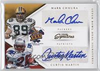 Mark Chmura, Curtis Martin /25