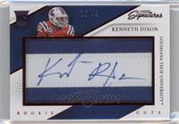 Rookie Signature Cuts - Kenneth Dixon /49