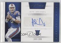 Prime Prospects Signatures - Jeff Driskel /199