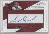 Rookie Signature Cuts - Sterling Shepard /199