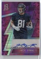 Rookie Autographs - Nick Vannett /10
