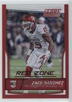 Rookies - Zack Sanchez /35