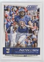 Rookies - Paxton Lynch