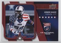 USA U17 - Dondre Baker