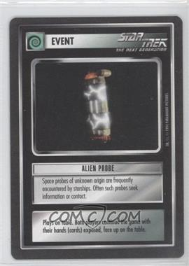1994 Star Trek Customizable Card Game: 1st Edition Premiere Black Border Expansion Set [Base] #NoN - Alien Probe