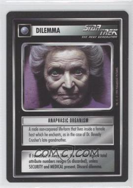 1994 Star Trek Customizable Card Game: 1st Edition Premiere Black Border Expansion Set [Base] #NoN - Anaphasic Organism