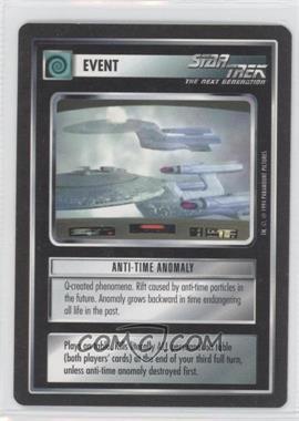 1994 Star Trek Customizable Card Game: 1st Edition Premiere Black Border Expansion Set [Base] #NoN - Anti-Time Anomaly