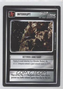 1994 Star Trek Customizable Card Game: 1st Edition Premiere Black Border Expansion Set [Base] #NoN - Asteroid Sanctuary