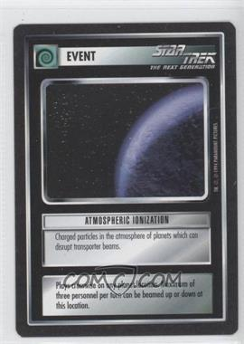 1994 Star Trek Customizable Card Game: 1st Edition Premiere Black Border Expansion Set [Base] #NoN - Atmospheric Ionization
