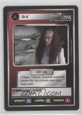 1994 Star Trek Customizable Card Game: 1st Edition Premiere Black Border Expansion Set [Base] #NoN - Ba'El