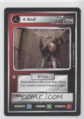 1994 Star Trek Customizable Card Game: 1st Edition Premiere Black Border Expansion Set [Base] #NoN - Batrell