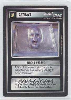 1994 Star Trek Customizable Card Game: 1st Edition Premiere Black Border Expansion Set [Base] #NoN - Betazoid Gift Box