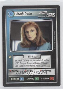1994 Star Trek Customizable Card Game: 1st Edition Premiere Black Border Expansion Set [Base] #NoN - Beverly Crusher