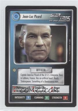 1994 Star Trek Customizable Card Game: 1st Edition Premiere Black Border Expansion Set [Base] #NoN - Jean-Luc Picard