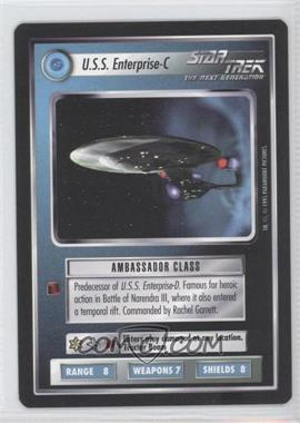 1994 Star Trek Customizable Card Game: 1st Edition Premiere Black Border Expansion Set [Base] #NoN - U.S.S. Enterprise-C