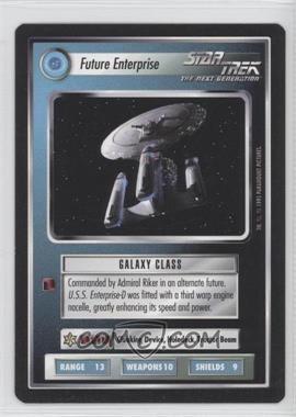 1995 Star Trek Customizable Card Game: Alternate Universe Expansion Set [Base] #NoN - Future Enterprise