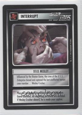 1995 Star Trek Customizable Card Game: Alternate Universe Expansion Set [Base] #NoN - Seize Wesley