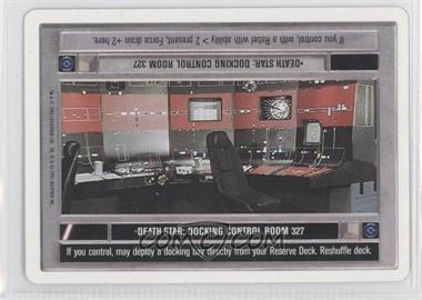 1995 Star Wars Customizable Card Game: Premiere - Expansion Set [Base] - Unlimited White Border #NoN - Death Star: Docking Control Room 327