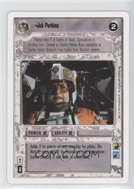 1995 Star Wars Customizable Card Game: Premiere - Expansion Set [Base] - Unlimited White Border #NoN - Jek Porkins