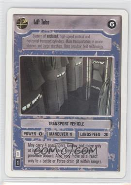 1995 Star Wars Customizable Card Game: Premiere - Expansion Set [Base] - Unlimited White Border #NoN - Lift Tube (Light)