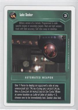 1995 Star Wars Customizable Card Game: Premiere - Expansion Set [Base] - Unlimited White Border #NoN - Luke Seeker