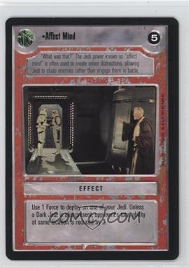 1995 Star Wars Customizable Card Game: Premiere - Expansion Set [Base] #NoN - Affect Mind