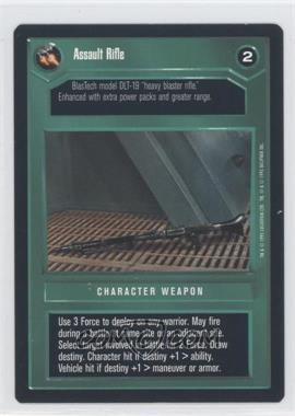 1995 Star Wars Customizable Card Game: Premiere - Expansion Set [Base] #NoN - Assault Rifle