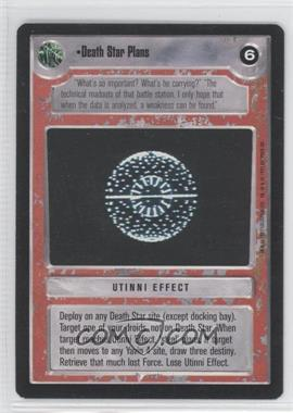 1995 Star Wars Customizable Card Game: Premiere - Expansion Set [Base] #NoN - Death Star Plans