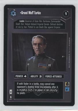 1995 Star Wars Customizable Card Game: Premiere - Expansion Set [Base] #NoN - Grand Moff Tarkin