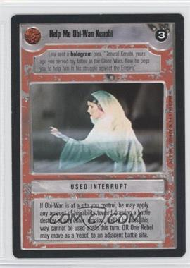 1995 Star Wars Customizable Card Game: Premiere - Expansion Set [Base] #NoN - Help Me Obi-Wan Kenobi