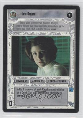 1995 Star Wars Customizable Card Game: Premiere - Expansion Set [Base] #NoN - Leia Organa