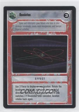 1995 Star Wars Customizable Card Game: Premiere - Expansion Set [Base] #NoN - Revolution