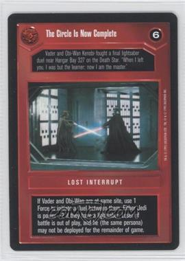 1995 Star Wars Customizable Card Game: Premiere - Expansion Set [Base] #NoN - The Circle Is Now Complete