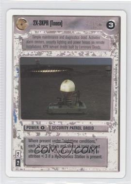 1995 Star Wars Customizable Card Game: Premiere Expansion Set [Base] Unlimited White Border #NoN - 2X-3KPR (Tooex)