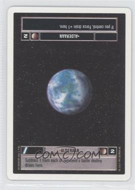 1995 Star Wars Customizable Card Game: Premiere Expansion Set [Base] Unlimited White Border #NoN - Alderaan (Light)