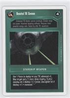 Boosted TIE Cannon