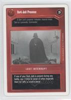 Dark Jedi Presence