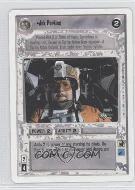 1995 Star Wars Customizable Card Game: Premiere Expansion Set [Base] Unlimited White Border #NoN - Jek Porkins