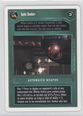1995 Star Wars Customizable Card Game: Premiere Expansion Set [Base] Unlimited White Border #NoN - Luke Seeker