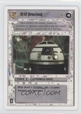 1995 Star Wars Customizable Card Game Premiere Expansion Set [Base] Unlimited White Border #NoN - R2-X2