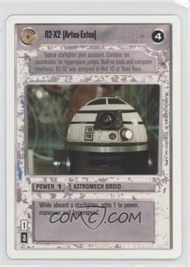 1995 Star Wars Customizable Card Game: Premiere Expansion Set [Base] Unlimited White Border #NoN - R2-X2