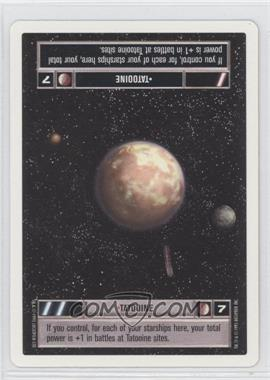 1995 Star Wars Customizable Card Game: Premiere Expansion Set [Base] Unlimited White Border #NoN - Tatooine