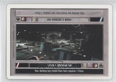 1995 Star Wars Customizable Card Game: Premiere Expansion Set [Base] Unlimited White Border #NoN - Yavin 4: Docking Bay