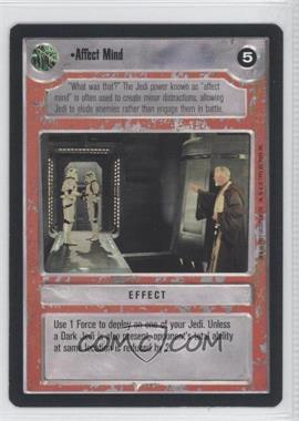 1995 Star Wars Customizable Card Game: Premiere Expansion Set [Base] #NoN - Affect Mind